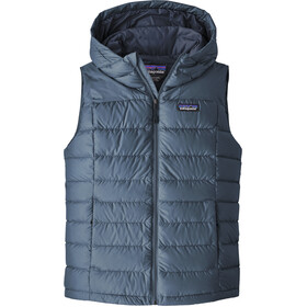 Patagonia Hi-Loft Chaleco Plumón Capucha Mujer, woolly blue